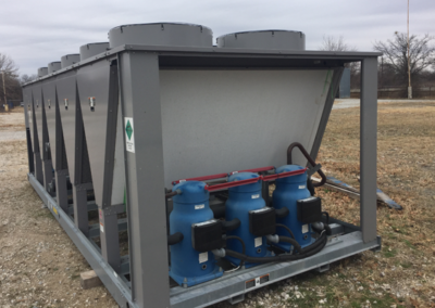 Carrier 150 Ton Chiller - end of equipment