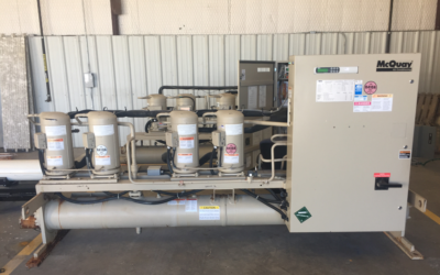 MCQUAY – 40 Ton Water Cooled Chiller