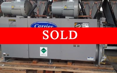 CARRIER - 75 Ton Water Cooled Chiller