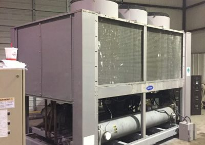 80 ton Carrier air-cooled chiller