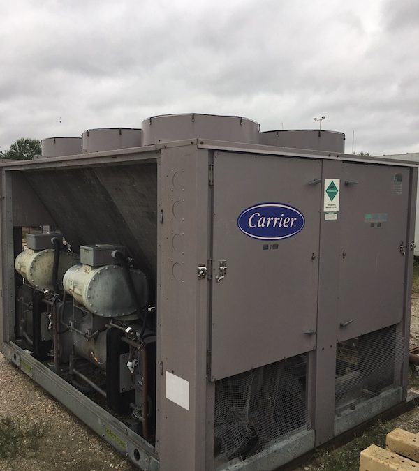 CARRIER – 125 Ton Air Cooled Chiller