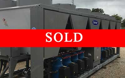 CARRIER – 190 Ton Air Cooled Chiller – New Factory Overstock (Includes Warranty)