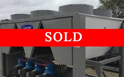CARRIER - 100 Ton Air Cooled Chiller - New Factory Overstock (Includes Warranty)