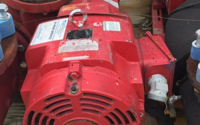 BELL & GOSSETT – 40HP Pump (Quantity Two Available)