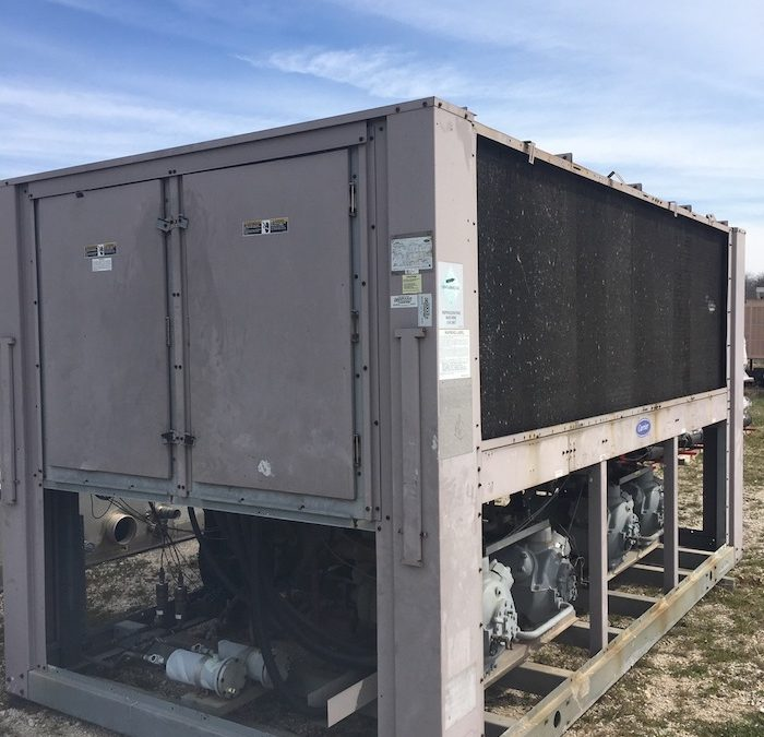 CARRIER – 30GTN100-E620KA 100 Ton Air Cooled Chiller (2002)