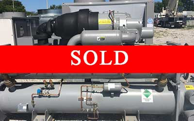 CARRIER - 150 Ton New Surplus Water Cooled Chiller