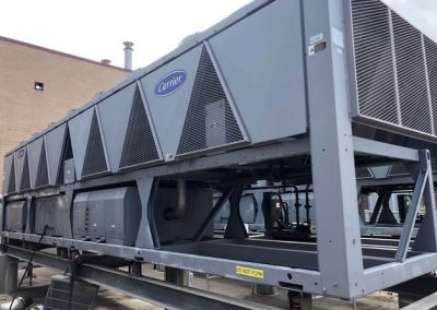 260 Ton Carrier Air Cooled Chiller (Qty Three Available)