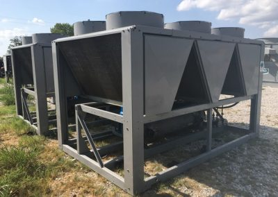 90 Ton Carrier Air Cooled Chiller (Qty. Two Available)