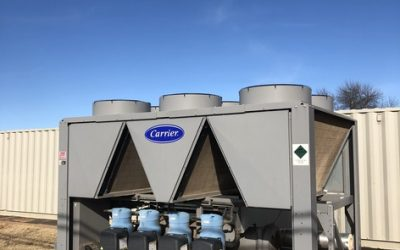 CARRIER – 30RBF1005–H—3 – 100 Ton Air Cooled Chiller