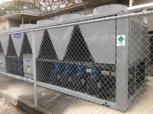 CARRIER – 250 Ton Air Cooled Chiller