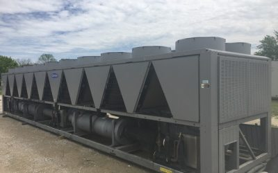 CARRIER – 400 Ton Air Cooled Chiller