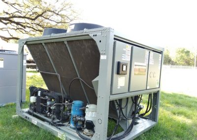 Used Trane 40 Ton Air Cooled Chiller
