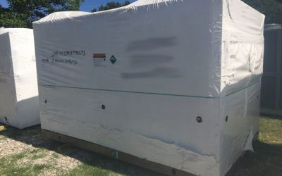 YORK – 100 Ton New Surplus Air Cooled Chiller