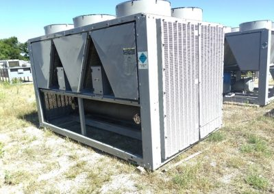 Used Carrier 30RBA1106–G7-C 110 Ton Air Cooled Chiller