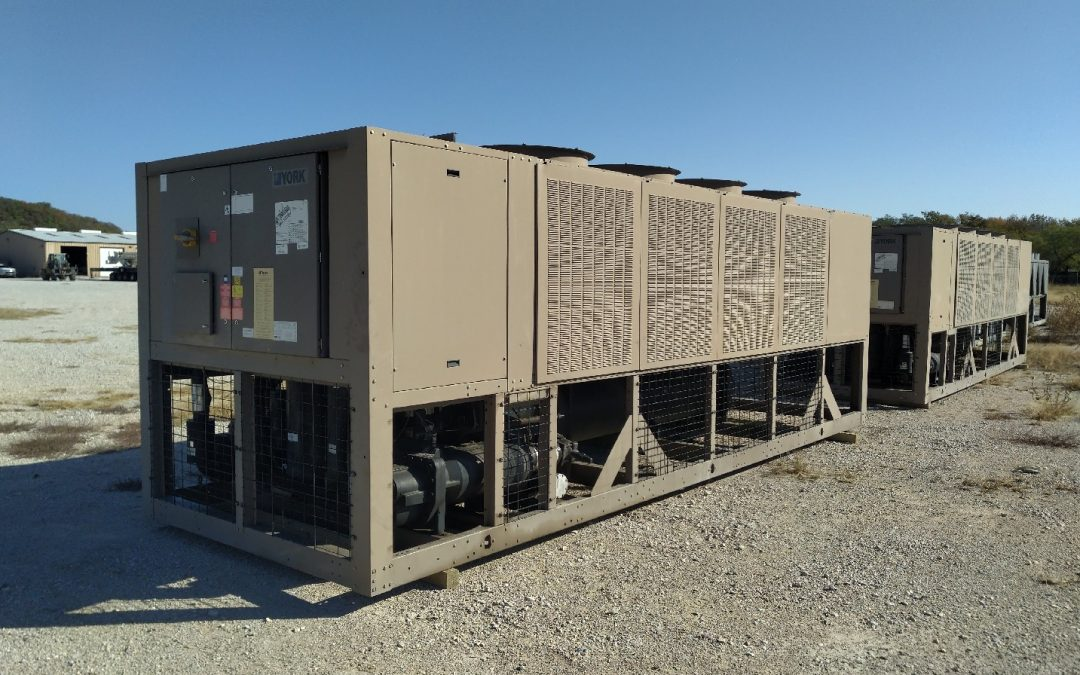 YORK – 175 Ton High Efficiency Air Cooled Chiller