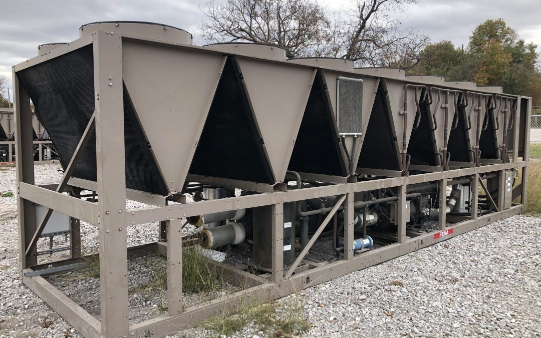 YORK – 225 Ton High Efficiency Air Cooled Chiller