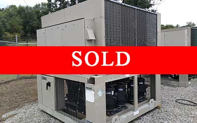 sold mcquay 50ton chiller