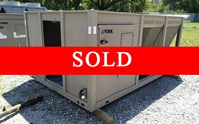 sold york 55ton chiller