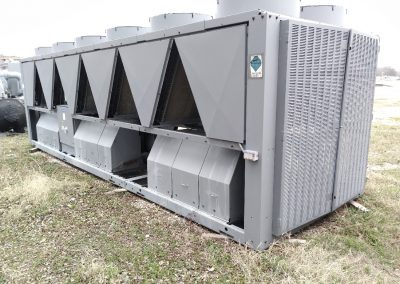 Used Carrier 210 Ton Air Cooled Chiller