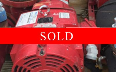 BELL & GOSSETT - 40HP Pump (Quantity Two Available)