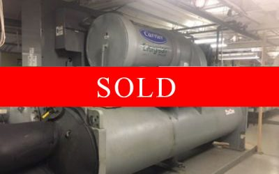 CARRIER - 400 Ton Water Cooled Chiller