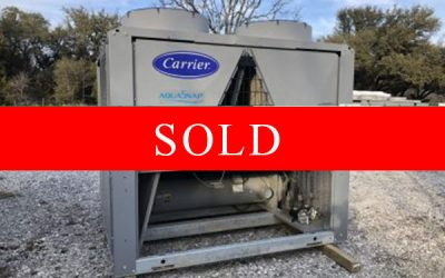 CARRIER - New Surplus 60 Ton Air Cooled Chiller